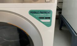 New wireless app for communal laundries
